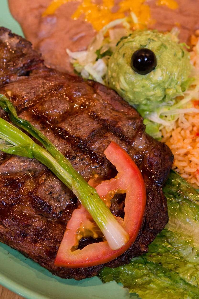 Carne Asada - El Caporal Mexican Food